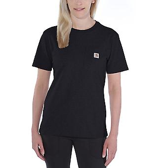 Carhartt Womens bolso Workwear Ribknit camiseta de manga curta