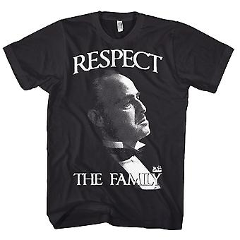 The Godfather Respect the Family Marlon Brando Official T-Shirt
