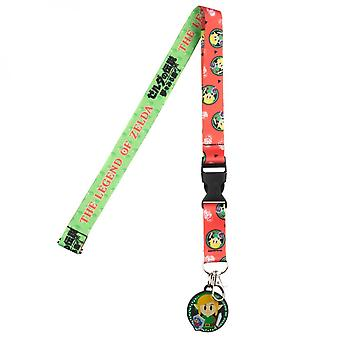 Legend Of Zelda Link's Awakening Lanyard
