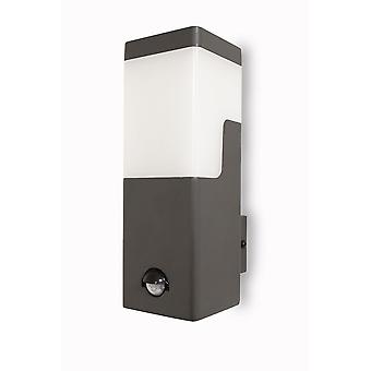 Wall lamp with motion detector Nevio Wall dark grey Led 10,8W 10832