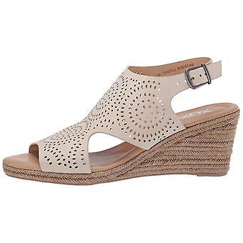 Xoxo Womens XO191061 Leather Peep Toe Casual Slingback Sandals