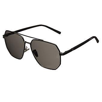 Bertha Brynn Polarized Sunglasses - Black/Black