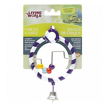Living World Circus Abacus Purpura (Birds , Bird Cage Accessories , Mirrors)