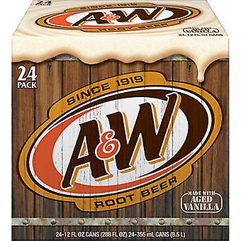 A & w Rootbeer -( 500 Ml X 24 Flaskor )
