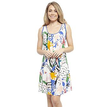 Cyberjammies 4440 Mujeres's Alicia White Abstract Print Algodón Chemise
