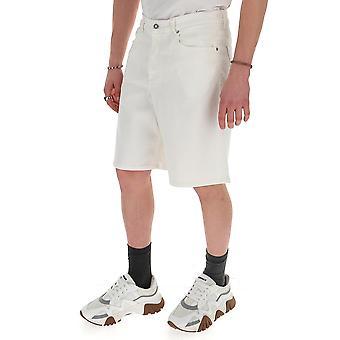 Givenchy Bm50kj50a1100 Men's White Cotton Shorts