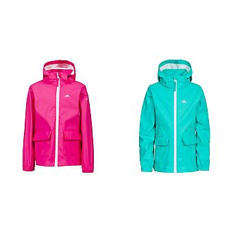 Trespass Childrens Girls Nella Waterproof Jacket