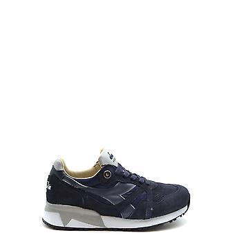 Diadora Ezbc116054 Hombres's Zapatillas de ante azul