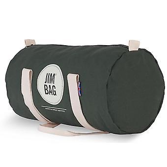 JIMBAG Olive Barrel Sports fitness gym overnight reise bag