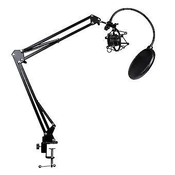 Tischständer für Mikrofon mit Schwingarm