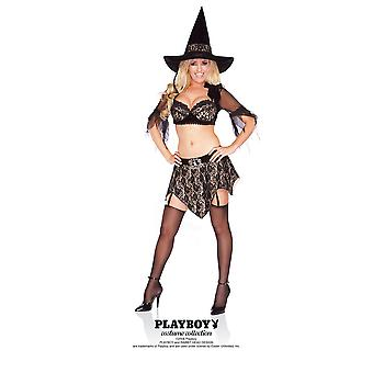 Women Playboy Rich Witch Costume
