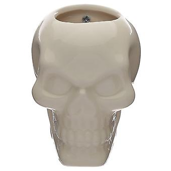 Gothic Homeware Skull Garden Wall Planter