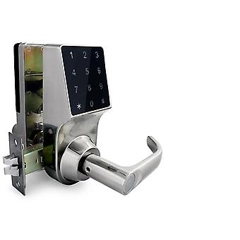 Smart door lock with touch - code, card, remote or key