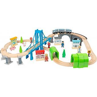 Voie de train en bois et quot; High Bridge et quot;