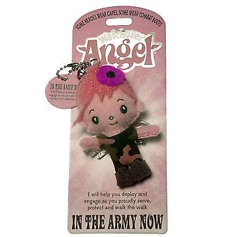 Watchover Angels In The Army Now Angel Keyring