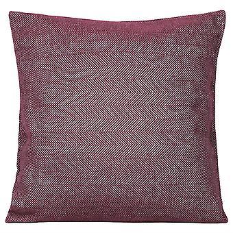 Herringbone thick pillowcase with pliiow Polyester square pillowcase with pliiow for sofa and bed 45x45cm
