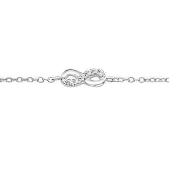 Infinity - 925 Sterling Silver ketjun Rannekorut - W19387x