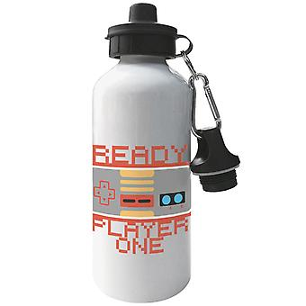 Retro Game Pad Ready Player One Aluminium Sports Water Bottle