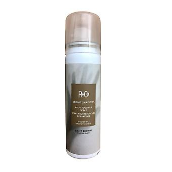 R+Co Bright Shadows Root Touch Up Spray Light Brown 1. 5 OZ