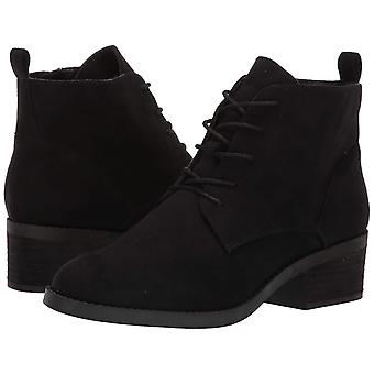 Carlos by Carlos Santana Womens Macey Fabric Closed Toe Ankle Combat Boots