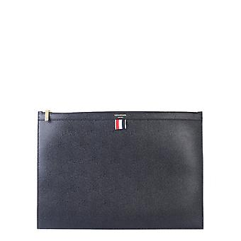 Thom Browne Mac020l00198001 Men's Black Leather Document Holder