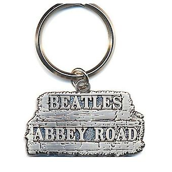 The Beatles Keyring Keychain Abbey Road Sign new Official