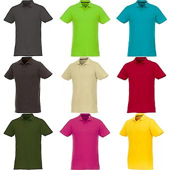 Elevate Mens Helios Short Sleeve Polo Shirt