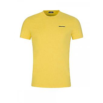 DSQUARED2 Simple Yellow T-shirt