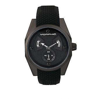 Morphic M34 Series Men's Watch w/ Day/Date - Black