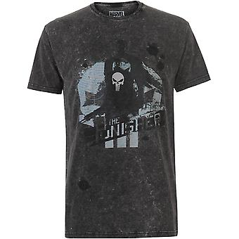 Character Marvel Wash T-Shirt Mens