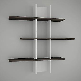 Rhodos White Mensus, Wenge i Melaminic Chip 96x18x101 cm