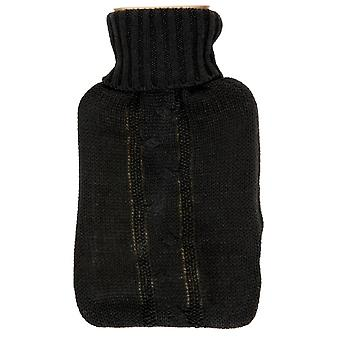 Hearth and Home Hot Water Bottle with Knit Cover