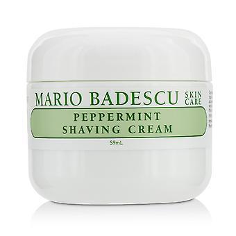 Peppermint shaving cream 216679 59ml/2oz