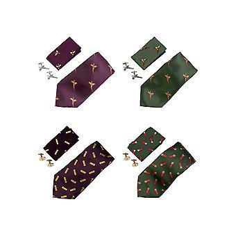 JACK PYKE Tie Hanky & Cufflink Gift Set