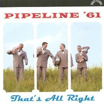 Pipeline '61 - That's All Right [CD] USA import