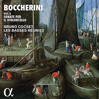 Boccherini / Cocset - Sonate Per Il Violincello E Basso [CD] Importación de EE.UU.
