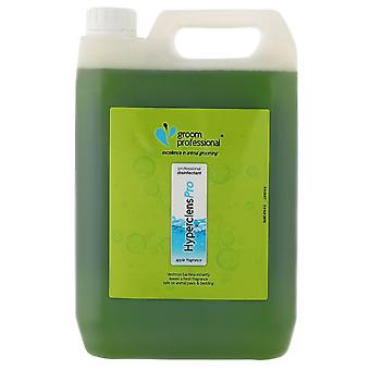 Groom Professional Hyperclens Pro Formula Fresh Disinfectant Apple, 5L