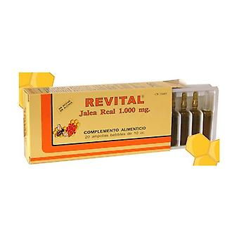 Royal Jelly Revital 20 ampoules