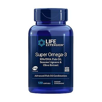 Super Omega-3 EPA/DHA 120 softgels