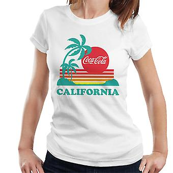 Coca Cola California Sunset camiseta de mujer