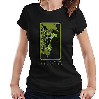 Alien eristäminen Xenomorph hampaat naiset ' s T-paita