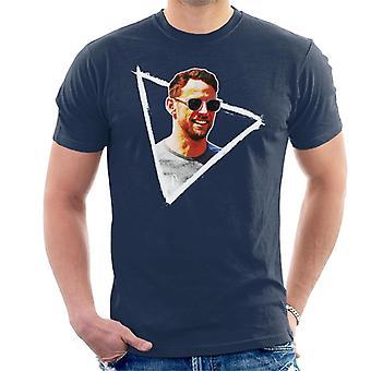 Motorsport Images Jenson Button Gafas de Sol Monaco GP 2017 Hombres's Camiseta