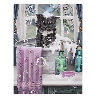 Lisa Parker Bath Time Canvas Plaque