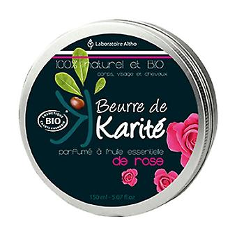 Shea butter with roses 150 ml of cream