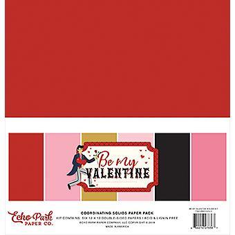 Echo Park Be My Valentine 12x12 Calowy pakiet papieru do koordynowania ciał stałych