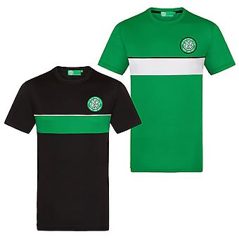 Celtic FC  Mens T-Shirt Poly Training Kit OFFICIAL Football Gift