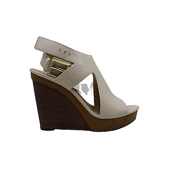 MICHAEL Michael Kors Josephine Wedge (Light Cream) Chaussures femmes-apos;s