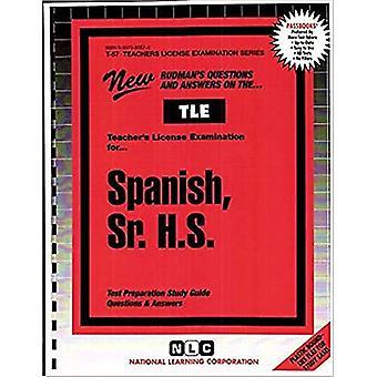 Espagnol, Sr. H.S.: Guide d'étude des passbooks