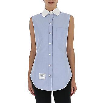 Thom Browne Fll022c02188480 Women's Light Blue Cotton Shirt