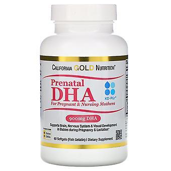 California Gold Nutrition, Prenatal DHA for Pregnant & Nursing Mothers, 900 mg P